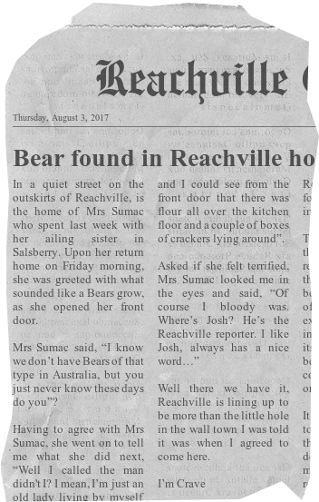 Bear found in Reachville home