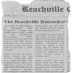 The Reachville Ransacker's