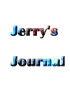 Jerry Warren's Journal